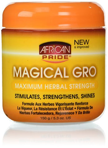 African Pride Magical Gro Maximum Herbal Strength 5.3 oz.