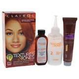 Clairol Professional Textures and Tones Permanent Hair Color Dye, 8R0 Flaming Desire