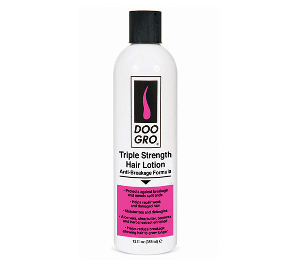 DOO GRO TRIPLE STRENGTH HAIR LOTION - 12 oz