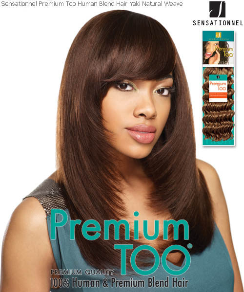 Sensationnel Premium Too  Yaki Pro Premium Blend Human Hair