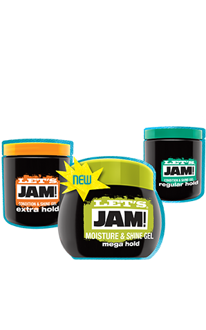 SoftSheen-Carson Let's Jam Moisture & Shine Gel Mega Hold (9 oz.)