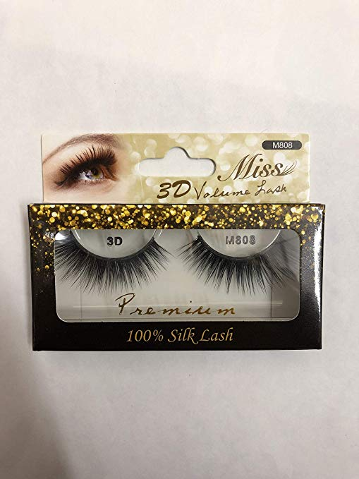 Miss Lash 100% Handmade Tapered 3D Volume lashes M808