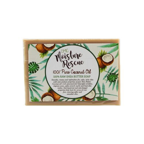 Moisture Rescue Shea Butter Soap with Coconut Oil 125 g
