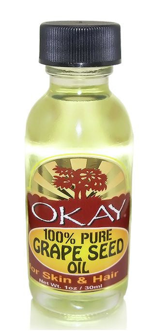 Okay 100% Pure Grape Seed Oil for Skin and Hair