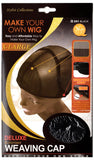 Qfitt Make your own wig #551 Black X-Large Deluxe Customized weaving cap