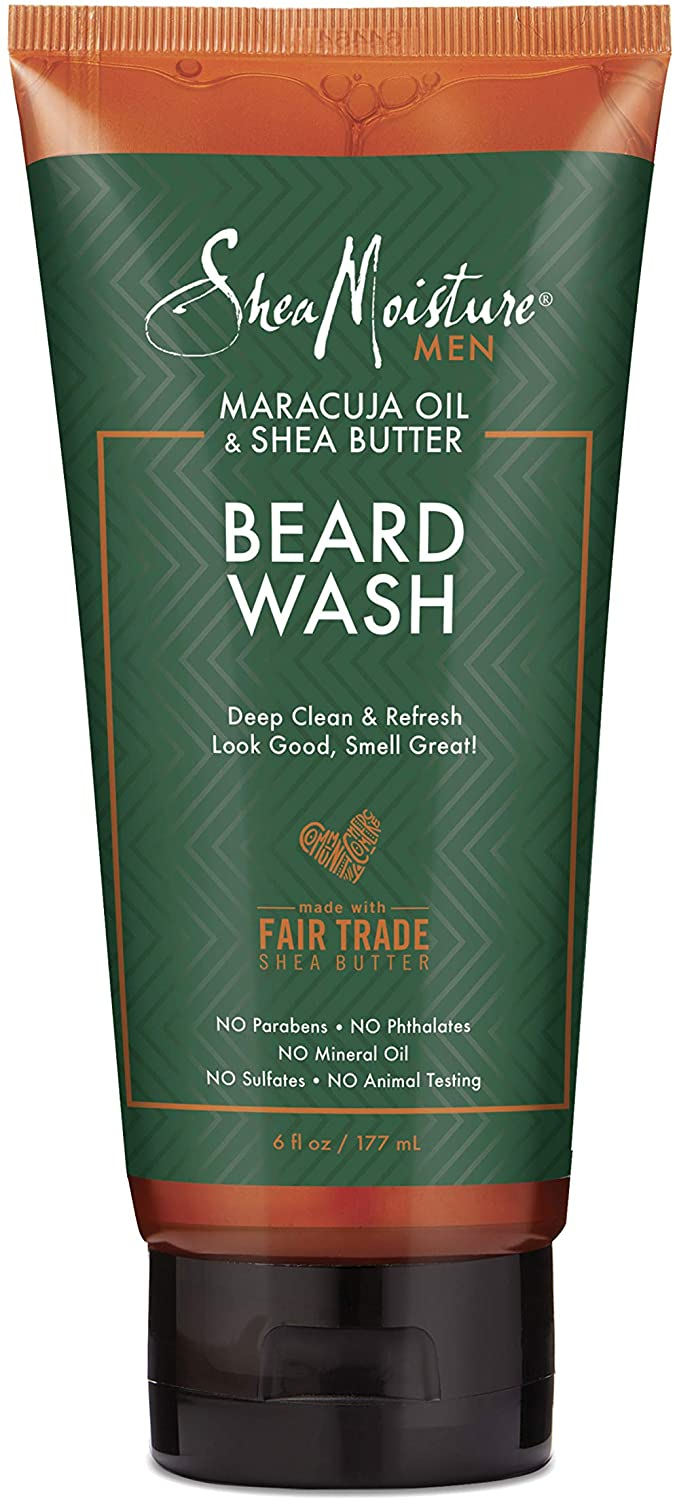 Shea Moisture Maracuja Oil & Shea Butter Full Beard Wash - 6 oz