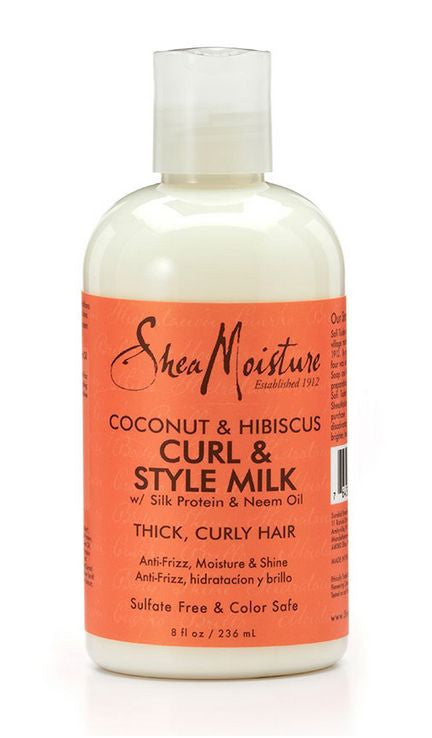 Shea Moisture Coconut and Hibiscus Curl and Style Milk