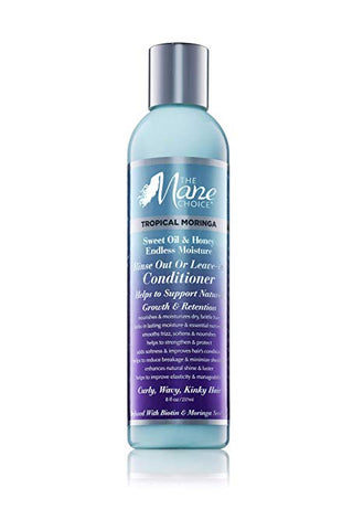 The Mane Choice TROPICAL MORINGA Rinse out or Leave-in CONDITIONER 8 fl oz