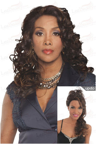 Vivica Fox Invisible Lace Front Futura Synthetic Wig Fergie