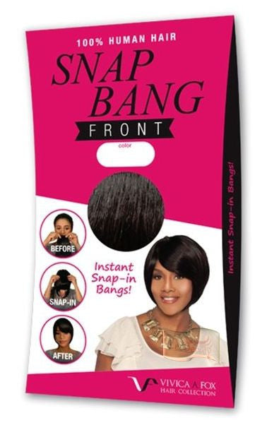 Vivica Fox Human Hair Snap Bang Front