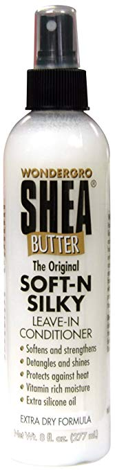 Wonder Gro Shea Butter Leave-In Conditioner 8 oz.