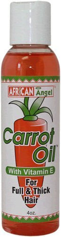 African Angel Carrot Oil With Vitamin E 4oz