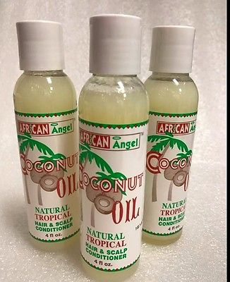 African Angel Coconut Oil 4oz