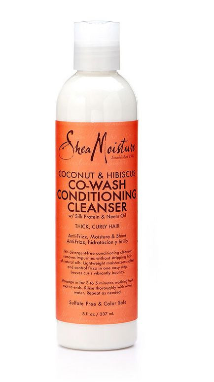 Shea Moisture Coconut and Hibiscus Co Wash Conditioning Cleanser