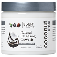 Eden Body Works Coconut Shea All Natural Cleansing CoWash (16 fl oz.)