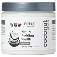 Eden Body Works Coconut Shea All Natural Pudding Souffle  (16 fl oz.)