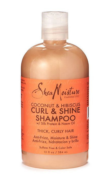 Shea Moisture Coconut and Hibiscus Curl and Shine Shampoo