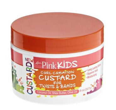 Luster's Pink Kids Curl Creation Custard for Twists & Braids (8 oz.)