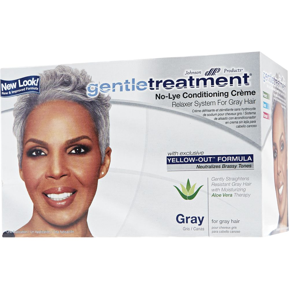 GentleTreatment No-lye conditioning creme kit // For Gray hair