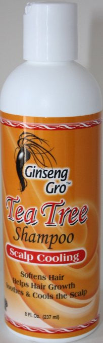 Ginseng Gro Tea Tree Shampoo (8 fl oz.)