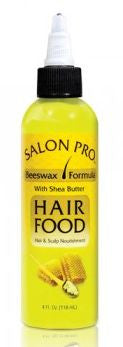 Salon Pro Hair Food Beeswax Formula (4 fl oz.)