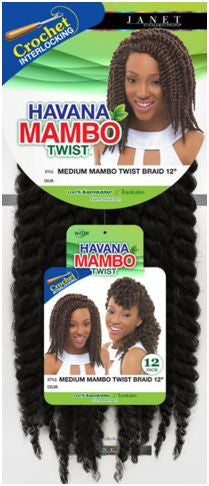 Janet Collection Havana Mambo Twist  Braid Medium 12""