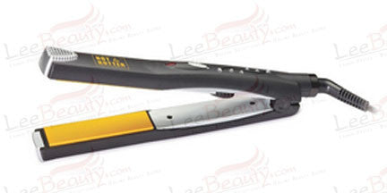 Hot and Hotter Gold Ceramic Jewels Flat Iron
