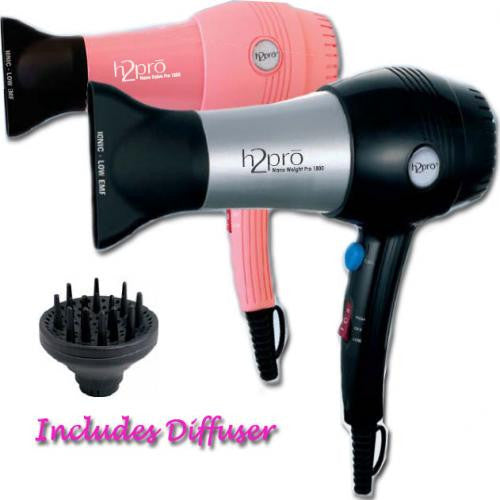 H2pro Nano Weight Salon Pro 1800 Hair Dryer