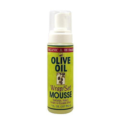 Organic Root Stimulator Olive Oil Wrap / Set Mousse