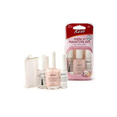 Kiss French Manicure Nail Art Kit