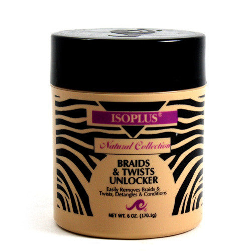 Isoplus Natural Collection Braids & Twists Unlocker