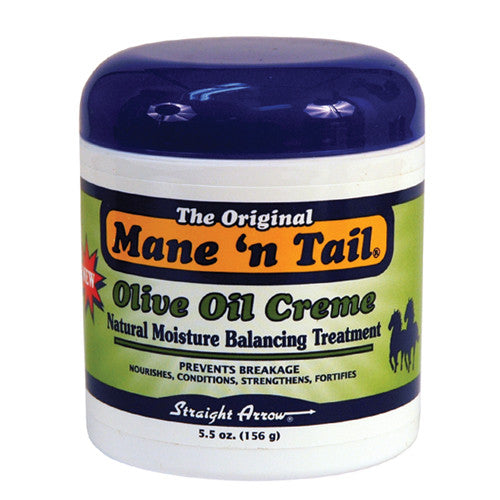 Mane N Tail Olive Oil Creme Natural Moisture Balancing Treatment