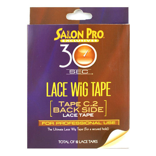 Salon Pro 30sec Lace Wig Tape C.2 Back Side