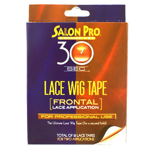 Salon Pro 30sec Lace Wig Tape Frontal Lace Application