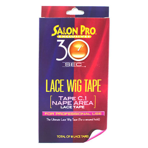 Salon Pro 30sec Lace Wig Tape C.1 Nape Area