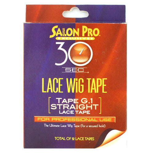 Salon Pro 30sec Lace Wig Tape G.1 Straight