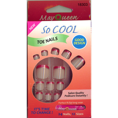 May Queen So Cool Toe Nails 18303
