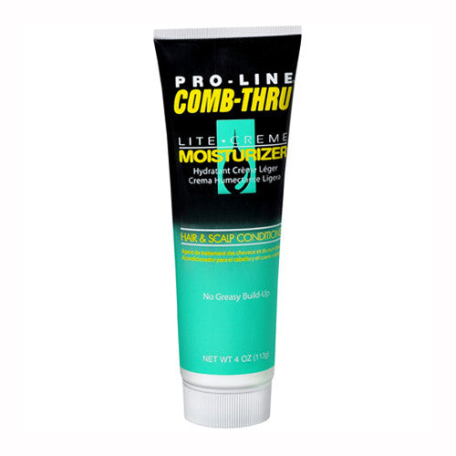 Pro-Line Comb-Thru Lite Creme Moisturizer Hair & Scalp Conditioner (4 oz.)