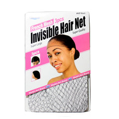 Dream French Mesh 3 Pieces Invisible Hair Net 127