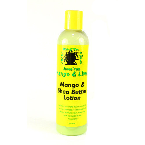 Jamaican Mango & Lime Mango And Shea Butter Lotion