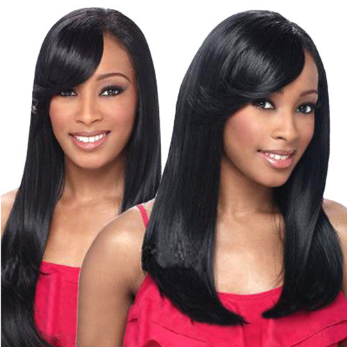 Freetress Equal Synthetic Hair Weaving Double Weave Xl refined Layer 4 pieces plus Free Closure
