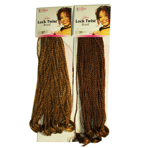 Biba Pre Lock Twist Braid