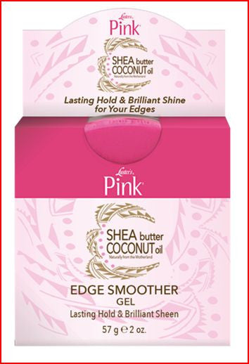 Luster's Pink Shea Butter Coconut Oil Edge Smoother Gel (2 oz.)