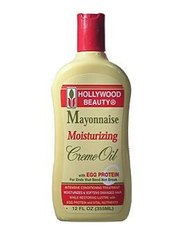 Hollywood Beauty Mayonnaise Moisturizing Creme Oil