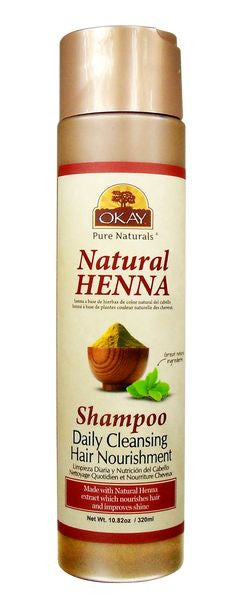 Okay Natural Henna Shampoo (10.82 oz.)