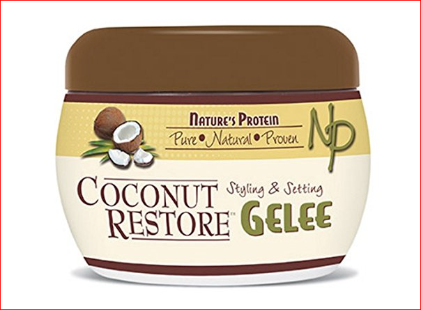 Nature's Protein Coconut Restore Styling & Setting Gelee