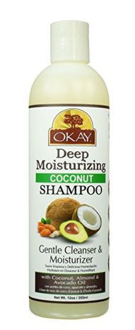 Okay Coconut Shampoo Deep Moisturizing (12 fl oz.)