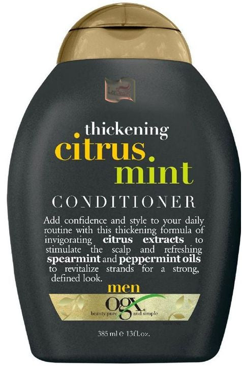 Organix Citrus Mint Conditioner For Men