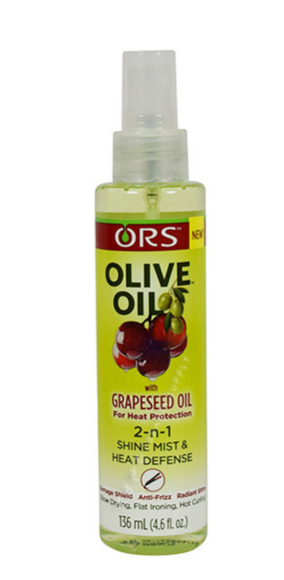 ORS 2n1 Shine Mist and Heat Defense with Grapeseed Oil