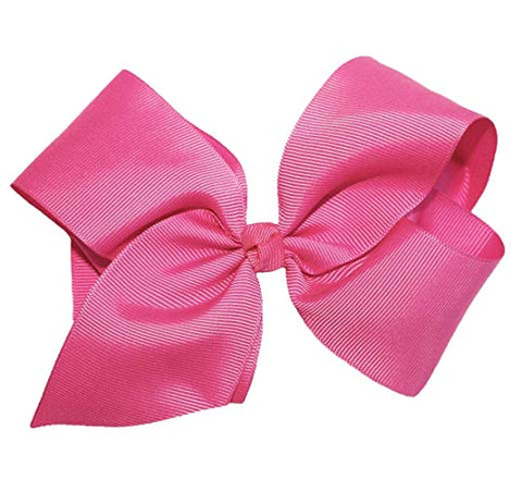 6 inches PACK OF 12 Hair Bows For Girls Ribbon Boutique Rainbows Hair Bow Clips For Kids Toddlers Teens Children Assorted colors